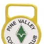 Cast aluminum putting green markers