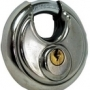 Stainless steel discuss padlocks