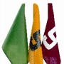 Numbered nylon flags (set of nine)